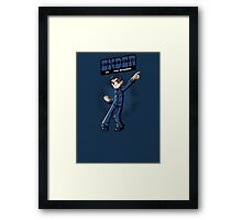 Ender vs. The Buggers Framed Print