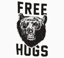 Free hugs Bear Kids Tee