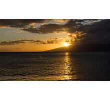 Pacific Sunset Photographic Print