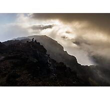 Sunrise Clouds at Haleakala Photographic Print