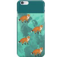 Red Fox iPhone Case/Skin