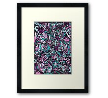 Assorted Characters Framed Print