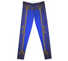 Acorn Illumination Page Blue 1 Leggings