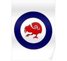 Takahe Air Force Roundel Poster
