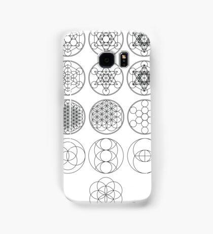 13 Circles | Sacred Geometry Samsung Galaxy Case/Skin