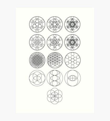 13 Circles | Sacred Geometry Art Print