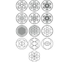 13 Circles | Sacred Geometry Photographic Print