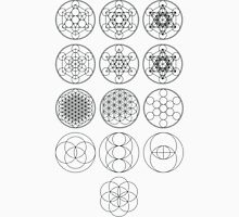 13 Circles | Sacred Geometry Unisex T-Shirt