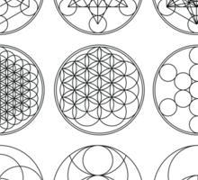 13 Circles | Sacred Geometry Sticker