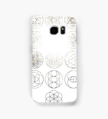 13 Circles [Tight Cluster Galaxy] | Sacred Geometry Samsung Galaxy Case/Skin