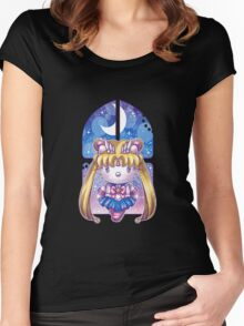 hello senshi Women's Fitted Scoop T-Shirt