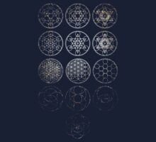 13 Circles [Tight Cluster Galaxy] | Sacred Geometry by SirDouglasFresh