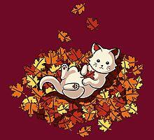Autumn Cat by Stephanie Jayne Whitcomb