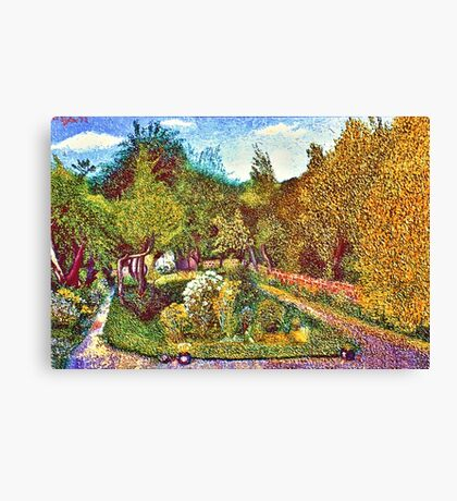 THE GARDEN,CAVENDISH ROAD,LONDON Canvas Print