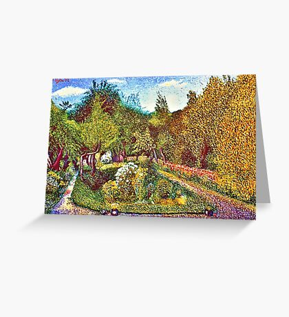 THE GARDEN,CAVENDISH ROAD,LONDON Greeting Card