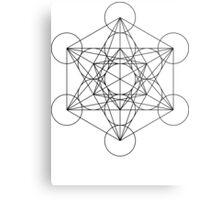 Metatron's Cube | Sacred Geometry Metal Print