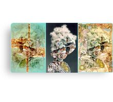 The Incidental Feathered Hat. Canvas Print
