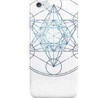 Metatron's Cube [The Blue Stars] | Sacred Geometry iPhone Case/Skin