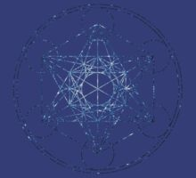 Metatron's Cube [The Blue Stars] | Sacred Geometry by SirDouglasFresh