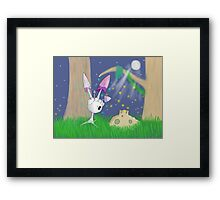 Spores at Twilight Framed Print