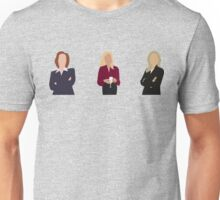 Gillian Anderson - TV Characters // Minimalist Unisex T-Shirt