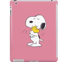 hug Peanuts Snoopy iPad Case/Skin
