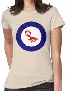 Fantail Air Force Roundel Womens Fitted T-Shirt