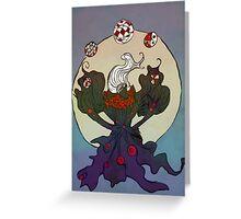 Darkrai's Discord Orb Greeting Card