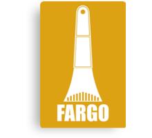 Fargo Ice Scraper Canvas Print