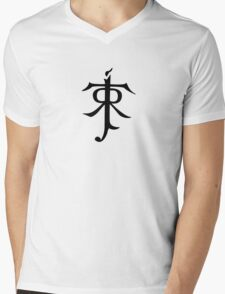 J.R.R. Tolkien Monogram Mens V-Neck T-Shirt
