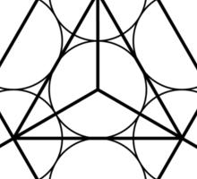 Star of David   Sacred Geometry Sticker