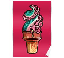 Swirly Tentacle Treat (gumdrop) Poster