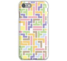 Back To The Old Us (Tetris) iPhone Case/Skin