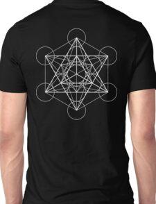 Metatron's Cube + Star of David | Sacred Geometry Unisex T-Shirt