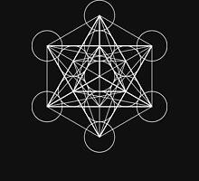 Metatron's Cube + Star of David | Sacred Geometry Hoodie