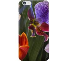 Orchid array iPhone Case/Skin