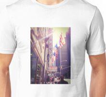 Outside Radio City Music Hall, New York City  Unisex T-Shirt