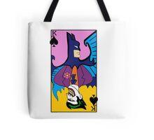 Batman/Joker Dual Card  Tote Bag