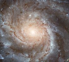 Hubble Space Telescope Print 0001 - Hubble's Largest Galaxy Portrait Offers a New High-Definition View Sticker