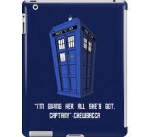 Doctor Who Misquote iPad Case/Skin