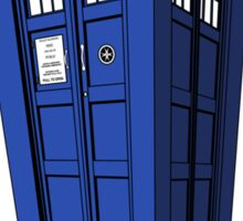 Doctor Who Misquote Sticker