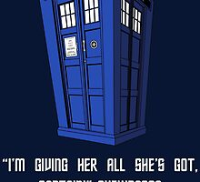 Doctor Who Misquote by Stephanie Jayne Whitcomb