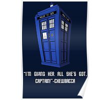 Doctor Who Misquote Poster