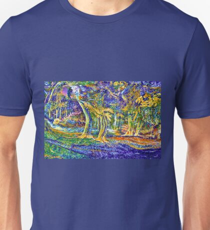 BURNHAM BEECHES BY TWILIGHT,ENGLAND Unisex T-Shirt