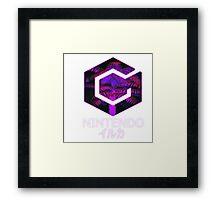 GAMECUBE PINK GLOW Framed Print