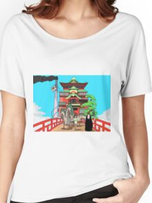 Spirited Away Drawing Women's Relaxed Fit T-Shirt