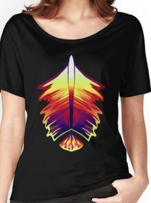 desert sunset feather and gem Women's Relaxed Fit T-Shirt
