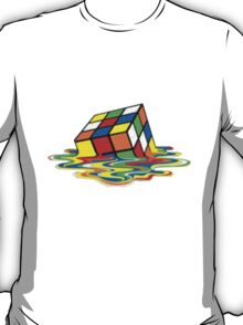 Melting Cubic T-Shirt