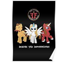 My Little Fringe Pony Poster