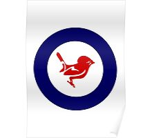 Tomtit Air Force Roundel Poster
